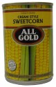 All Gold Cream Style Sweetcorn 420g
