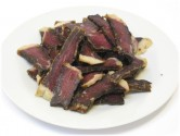Bobs Garlic Beef Biltong Sliced 125g